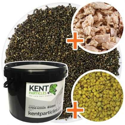 Kent Particles Prepared Hemp, Maize & Tuna: click to enlarge