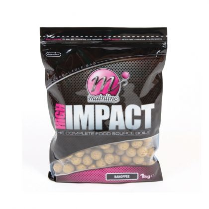 Mainline Baits Banofee High Impact Boilies: click to enlarge