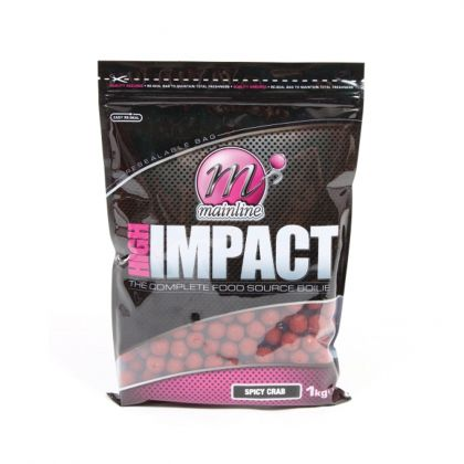 Mainline Baits Spicy Crab High Impact Boilies: click to enlarge
