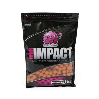 Mainline Baits 50/50 Fruit-Tella High Impact Boilies: click to enlarge