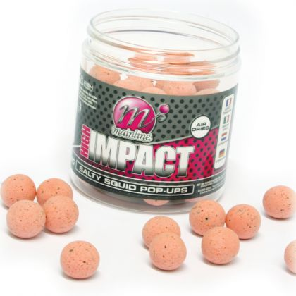 Mainline Baits Salty Squid High Impact Pop-ups: click to enlarge