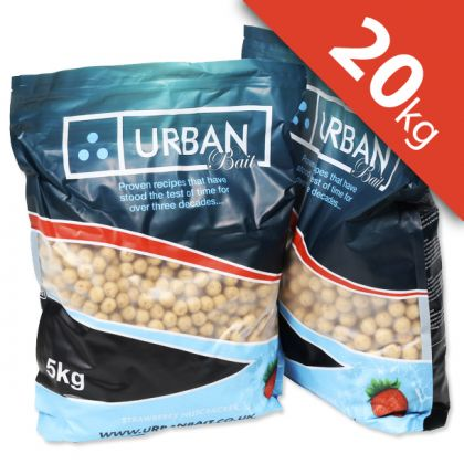 Urban Bait Urban Bait Strawberry Nutcracker 20kg Boilie & Pellet Deal: click to enlarge