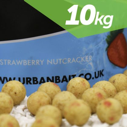 Urban Bait Urban Bait Strawberry Nutcracker 10kg Boilie & Pellet Deal: click to enlarge