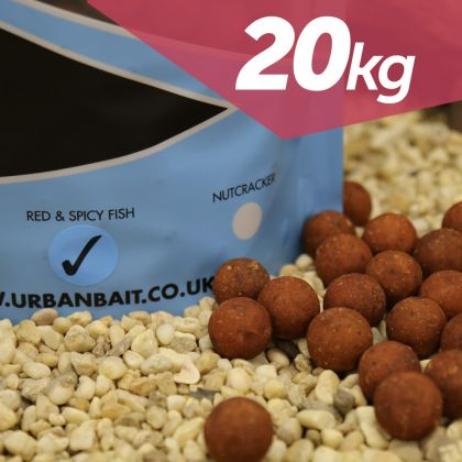 Urban Bait Urban Bait Red Spicy Fish 20kg Boilie Deal: click to enlarge