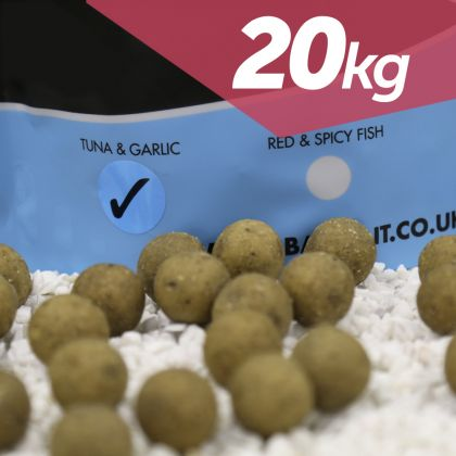 Urban Bait Urban Bait Tuna & Garlic 20kg Boilie & Pellet Deal: click to enlarge
